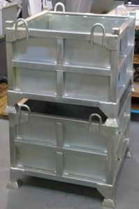 Picture of Heavy Duty  Storage Box 580 litre with Lid