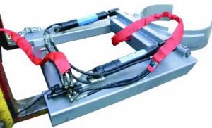 Picture of Heavy Duty Hydraulic Drum Rotator with Electric Flow Diverter