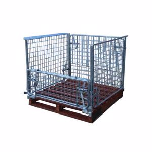 Picture of Pallet Cage with Timber Pallet