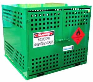 Picture of 24 x 9kg LPG Storage Cage
