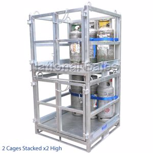 Picture of Cage for Transporting Gas Cylinders (Assembled)