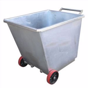 Picture of Light Weight Forklift Skip Bin 0.35m2 with Wheels