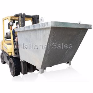 Picture of Crane Bin 0.68m3 with Fork Pockets