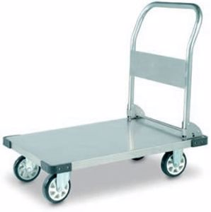 Picture of Stainless Steel Flatbed Trolley 500Kg Capacity
