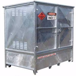 Picture of Metal Dangerous Goods Storage 2000 Litre Capacity