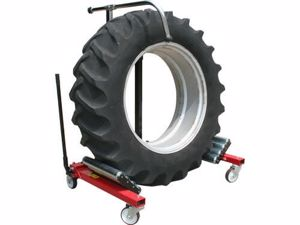 Picture of Dual Wheel Tyre Hydraulic Dolly