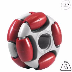 Picture of Rotacaster 48mm Double 90A Firm Polyurethane Roller 12.7mm Keyed Bore