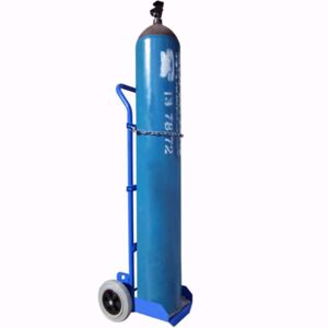 Picture of Gas Cylinder Trolley for 1 x G Size or 1 x E Size Cylinder