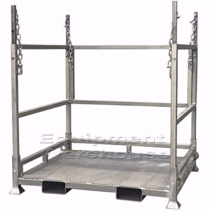 Picture of Bulk Bag Stand with Sheet Metal Base