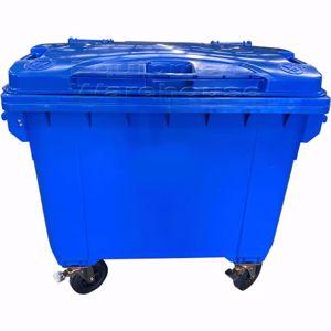 Picture of 660 Litre Wheelie Bin Blue